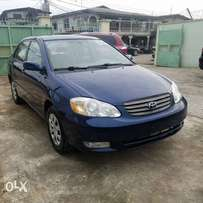 2 Units of Tincan cleared 2004 Toyota Corolla LE(blue color)