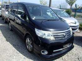 Nissan Serena 2010 Black Beauty Just Buy and drive 7 Seater