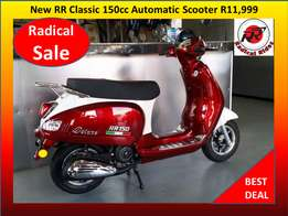 New 150cc RR Classic Scooter