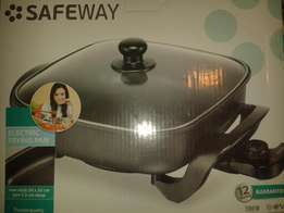 Brand New Safeway Electric Non-stick Frying Pan