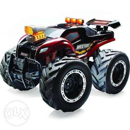 Fast lane RC xps wild fire truck remote control toy