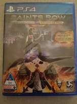 Saints row IV re elected/gat out of hell PS4 (brand new and sealed)