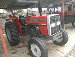 Brand new MF 360 with turbo engine.