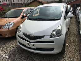 Toyota Ractis 2010 at 780k Only