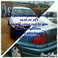 Looking to sell your car or bakkie call me now