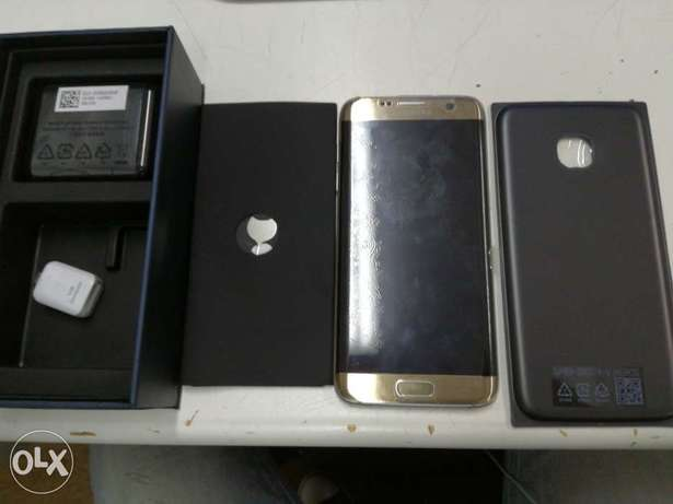 S7 Edge Gold with box charger etc Durban Central - image 1