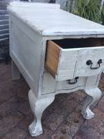 French Shabby Chic Pedestals