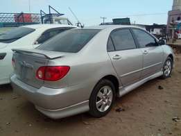 2006 Toyota Corolla sports.