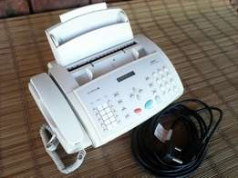 Telefax office equipment