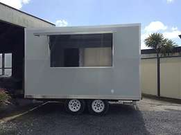 3.6m new food trailers with warranty and insurance