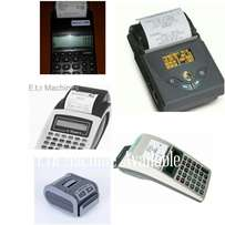 All Types of ETR MACHINES,
