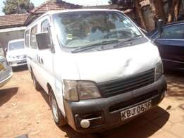 Quick Sale! Nissan Caravan 2002 Locally Used For Sale 490,000/= only