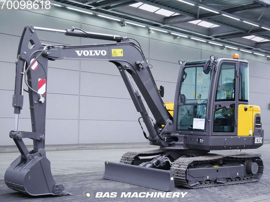 Volvo EC55C New unused machine - 2018