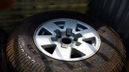 ford ranger std rims and tires