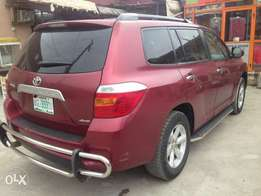 Toyota Highlander 2011model full option