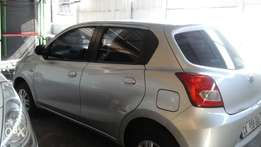 Datsun Go, female owner, lic up todate
