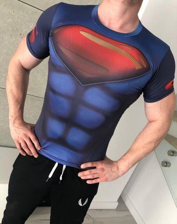 d3bbfdfea Koszulka Termoaktywna na SIŁOWNIE Rashguard DC SUPERMAN Kraków - image 1