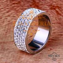 Genuine stainless steel women jewelry accessory ring
