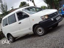 Toyota Townace 2004 model white colour used locally diesel manual