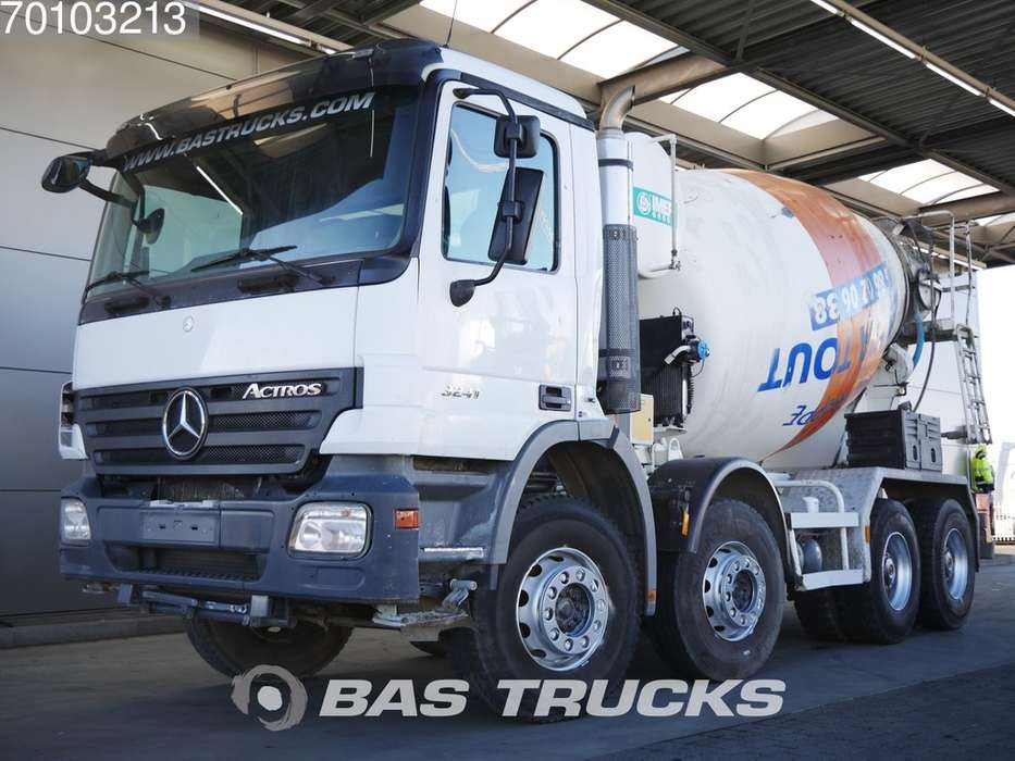 Mercedes-Benz Actros 3241 8X4 Big-Axle Steelsuspension Euro 4 - 2007