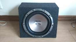 Sony Subwoofer 1300W and Sansui Amp 1500W