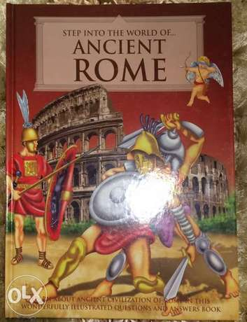 Ancient Rome, Egypt & Greece Books