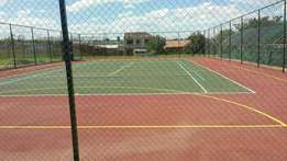 Tennis courts and all playgrounds