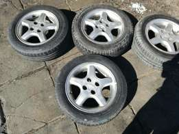 Tyres good Condition with mags