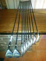 ***Tommy Armour Silver Scot Hybrid/Iron TA-24 U FLEX Stainless set*