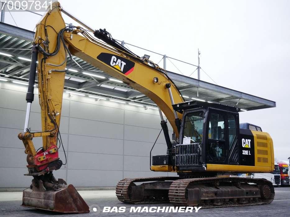 Caterpillar 320E L Ex German dealer machine - 2013