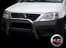 Nissan Np200 nudge bar - Stainless Steel