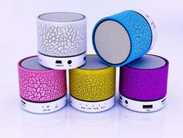 Bovic Mini Bluetooth Speaker With Built-in Mic /LED Light/FM