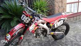 Honda Off Road Motorcycle