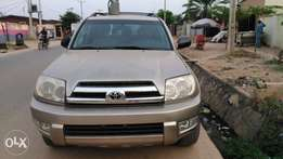 Toyota 4 runner 2005 Tokunbo, foreign used
