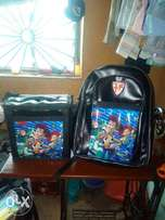 Beautiful Children School pack with Matching Lunch box.