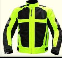 High Viz Biker / Riding Jacket - Two available
