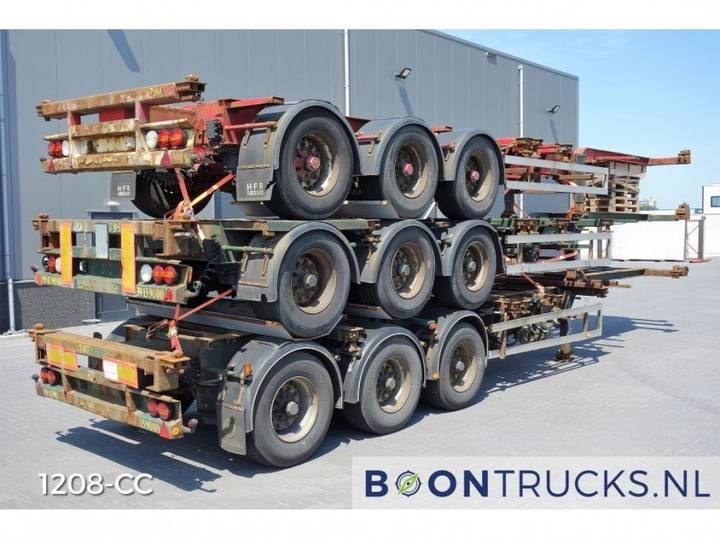 HFR *STACK OF 3* 20-30-40-45ft *EXTENDABLE REAR* - 2005
