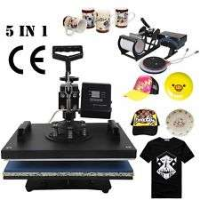 6 in 1 Black Heat Press Transfer Sublimination Machine Nairobi CBD - image 3