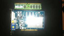 DDR2 1GB Ram & Ge Force FX 128MB Graphics Card