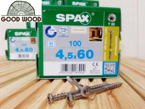 Wkręty Nierdzewne Spax A2 45x60 Tarasowe Do Deski