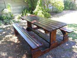 Pay Less for Picnic Benches IN stock 4,6,8,10,12 seaters with Guarante