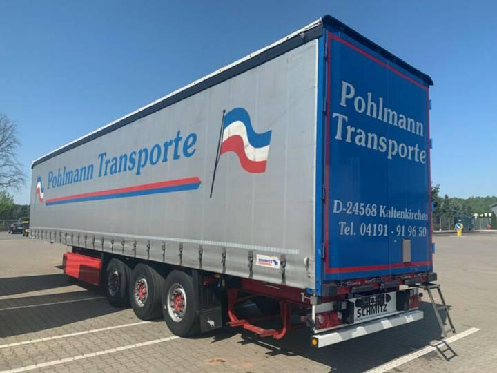 Schmitz Cargobull S01 Liftachse Palettenkasten Deutsches Fahrzeug - 2012