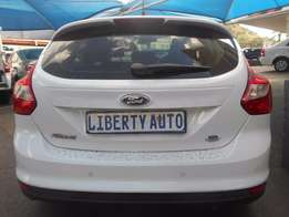2012 Ford Focus Trend 1.6 Hatch Back 51,345km Cloth Upholstery, 5Door