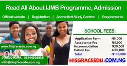 2017 IJMB Application is on at His Grace Educational Consult