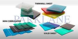 Outdoors roofing sheets