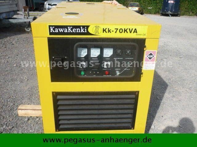 Kawakenki kk 70 aggregat stromaggregat - 2019