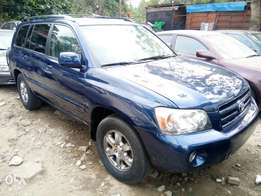 Fairly Used 2005 Toyota Highlander Leather For N1.9M