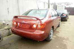 Toyota Corolla foreign used 2005model for sale