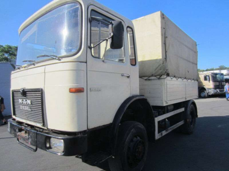 MAN 16.320fa 4x4, Allrad-pritsche, Zugmaschine - 1978