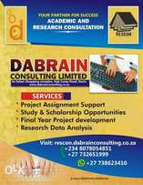 Research and Consultation Services